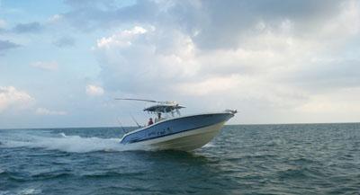 Marathon FL fishing charter boat
