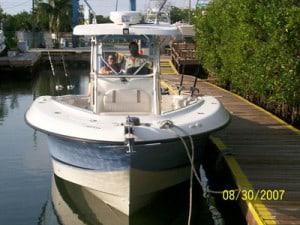 Marathon charter boat