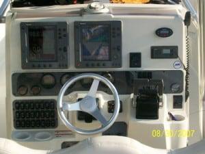 Marathon charter boat console