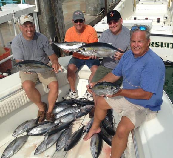Marathon Fall Tuna Fishing Charter