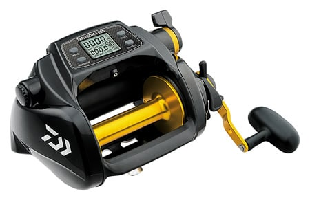 Florida Keys deep drop fishing reel Daiwa 1000