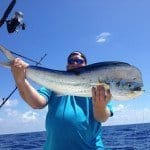 big mahi mahi caught in Marathon, Florida Keys