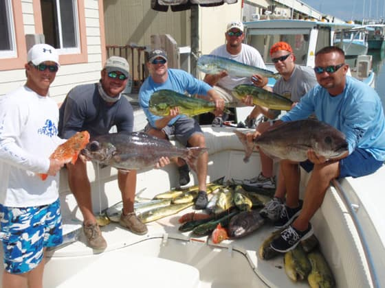 Marathon fishing charter