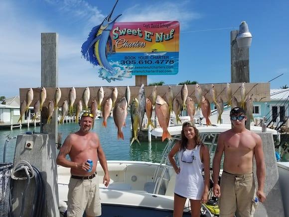 Marathon FL reef fishing charters