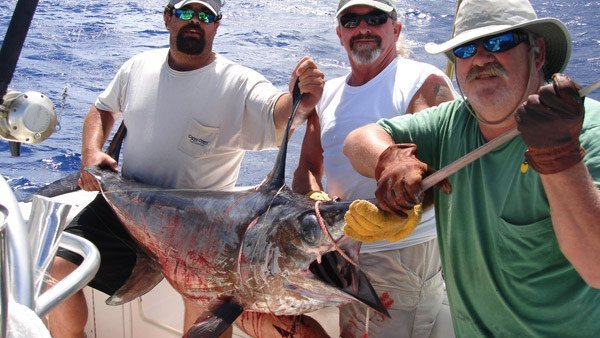 deep sea fishing charters in marathon, FL Keys for swordfish