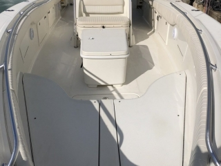 The Sweet E'Nuf charter boat offers plenty of room for your day on the water.